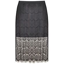 Buy Paisie High Waist Lace Skirt, Black Online at johnlewis.com