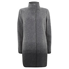 Buy Mint Velvet Ombré Coat, Charcoal Online at johnlewis.com