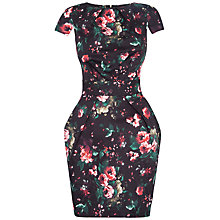Buy Closet Floral Printed Dress, Multi Online at johnlewis.com