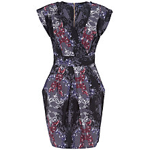 Buy Closet Damask Print Cross Over Dress, Multi Online at johnlewis.com
