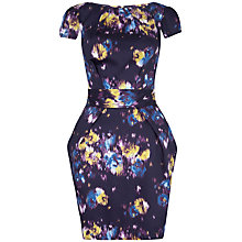 Buy Closet Printed Tie Back Dress, Multi Online at johnlewis.com