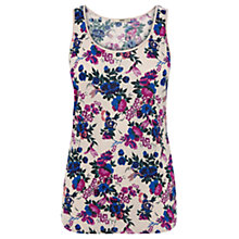 Buy Oasis Posy Print Vest Top, Multi Online at johnlewis.com
