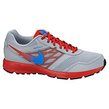 Buy Nike Air Relentless 3 Men's Running Shoes, Grey/Red Online at johnlewis.com