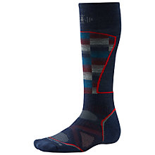 Buy SmartWool PhD Ski Medium Pattern Men's Socks Online at johnlewis.com