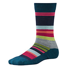 Buy SmartWool Women's Saturnsphere Socks, Deep Sea Heather Online at johnlewis.com