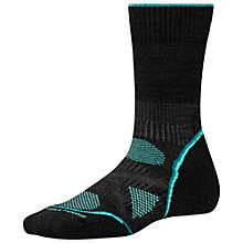 Buy SmartWool PHD Outdoor Light Crew Socks, Charcoal Online at johnlewis.com
