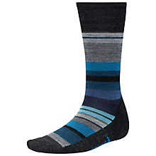 Buy SmartWool Men's Saturnsphere Socks, Charcoal Heather Online at johnlewis.com