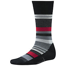 Buy SmartWool Men's Saturnsphere Socks, Black/Grey Heather Online at johnlewis.com