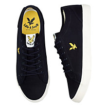 Buy Lyle & Scott Teviot Canvas Trainers Online at johnlewis.com