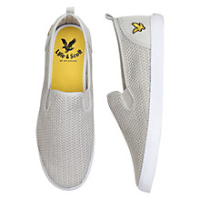Buy Lyle & Scott Cally Mesh Slip-On Trainers Online at johnlewis.com