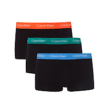 Buy Calvin Klein Underwear Low Rise Trunks, Pack of 3 Online at johnlewis.com