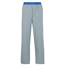 Buy Calvin Klein Lane Stripe Lounge Pants, Grey Online at johnlewis.com