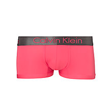 Buy Calvin Klein Underwear Zinc Micro Low Rise Trunks, Pink Online at johnlewis.com
