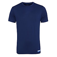 Buy Calvin Klein Crew Neck T-Shirt, Navy Online at johnlewis.com