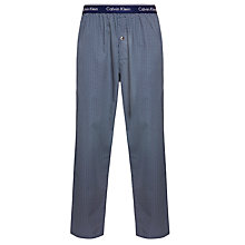 Buy Calvin Klein Geometric Print Lounge Pants, Navy Online at johnlewis.com