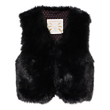 Buy Mango Kids Girls' Faux Fur Gilet Online at johnlewis.com