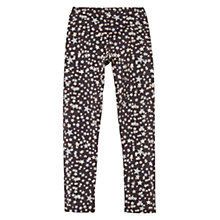Buy Mango Kids Girls' Star Print Leggings, Charcoal Online at johnlewis.com