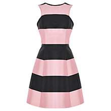 Buy Coast Ellie May Stripe Dress, Pink/Black Online at johnlewis.com