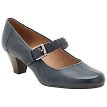 Buy Clarks Fearne Dew Leather Court Shoes Online at johnlewis.com