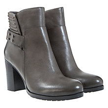 Buy Mint Velvet Mila Leather Nubuck Biker Boots Online at johnlewis.com