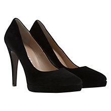 Buy Mint Velvet Alana Leather Heeled Court Shoes Online at johnlewis.com