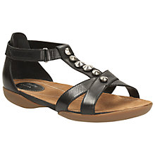Buy Clarks Raffi Scent Leather Sandals Online at johnlewis.com
