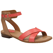 Buy Clarks Viveca Zeal Leather Ankle Strap Sandals Online at johnlewis.com