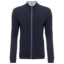 Buy BOSS Cannobio Full Zip Jumper, Navy Online at johnlewis.com