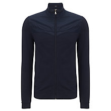 Buy BOSS Pizzoli Full Zip Jumper, Navy Online at johnlewis.com