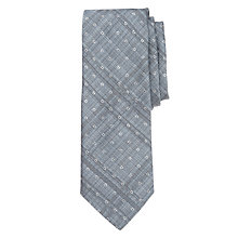 Buy BOSS Textured Melange Circle Dot Tie Online at johnlewis.com