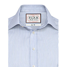 Buy Thomas Pink Auden Stripe Shirt, White/Blue Online at johnlewis.com