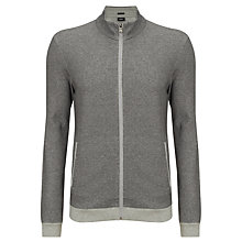 Buy BOSS Cannobio Sweatshirt Jacket, Grey Online at johnlewis.com