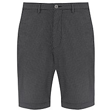 Buy BOSS Clyde Mini Check Shorts, Navy Online at johnlewis.com