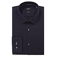 Buy BOSS Joey Poplin Long Sleeve Shirt Online at johnlewis.com