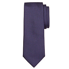 Buy BOSS Micro Square Silk Tie Online at johnlewis.com