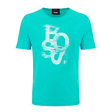 Buy BOSS Terni Crew Neck Logo T-Shirt Online at johnlewis.com