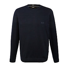 Buy BOSS Balduin Crew Neck Jumper Online at johnlewis.com
