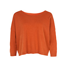 Buy Hobbs Alexa Sweater, Pumpkin Online at johnlewis.com