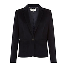 Buy Hobbs Payton Jacket, Navy Online at johnlewis.com