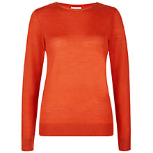 Buy Hobbs Calla Sweater, Pumpkin Online at johnlewis.com