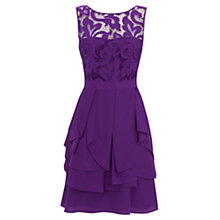 Buy Coast Petite Daymee Dress, Purple Online at johnlewis.com