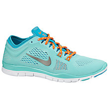 Buy Nike Free TR 4 Women's Training Shoes, Hyper Turquoise/Light Ash Online at johnlewis.com