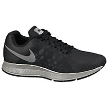 Buy Nike Air Zoom Pegasus 31 Running Shoes, Black/Reflect Silver Online at johnlewis.com