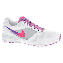 Buy Nike Air Relentless Women's Running Shoes, White/Hyper Punch Online at johnlewis.com