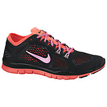 Buy Nike Free 5.0 TR 4 Women's Training Shoe, Black/Midnight/Hyper Purple Online at johnlewis.com