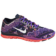 Buy Nike Free TR Fit 4 Print Cross Trainers Online at johnlewis.com