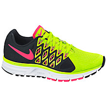 Buy Nike Zoom Vomero 9 Running Shoes, Volt Green/Hyper Punch Online at johnlewis.com