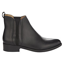 Buy Whistles Bryton Leather Flat Chelsea Ankle Boots Online at johnlewis.com