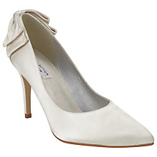 Buy COLLECTION by John Lewis Martini Satin Court Shoes, Ivory Online at johnlewis.com