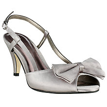 Buy John Lewis Marguerita Sandals, Silver Online at johnlewis.com